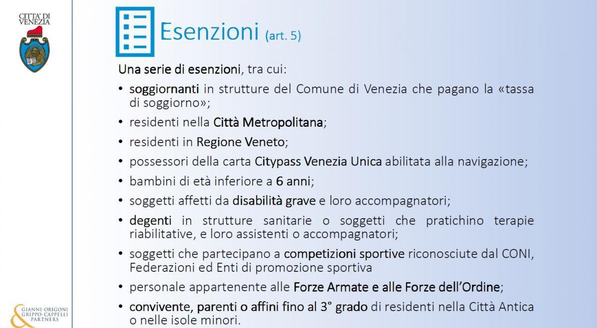 Contributo di accesso a Venezia: le informazioni utili | Comune di ...