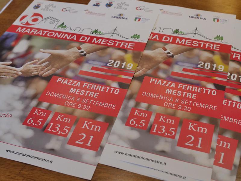 poster Maratonina di Mestre
