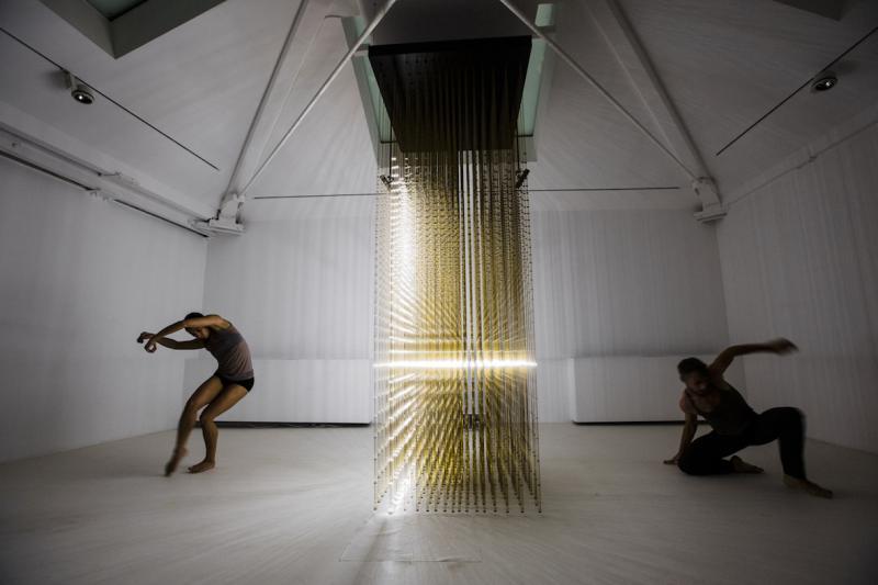 RANDOM INTERNATIONAL, Future Self, 2012. Performance by Company Wayne McGregor