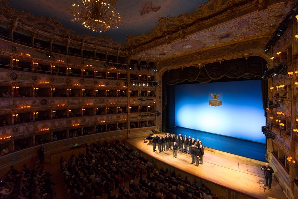 coro Marmolada al Teatro La Fenice