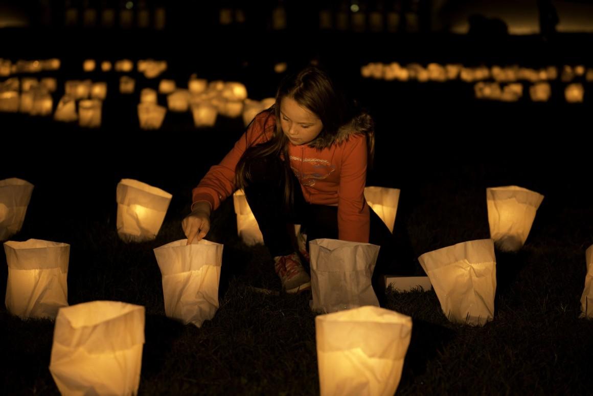 foto evento Earth hour da www.oradellaterra.org