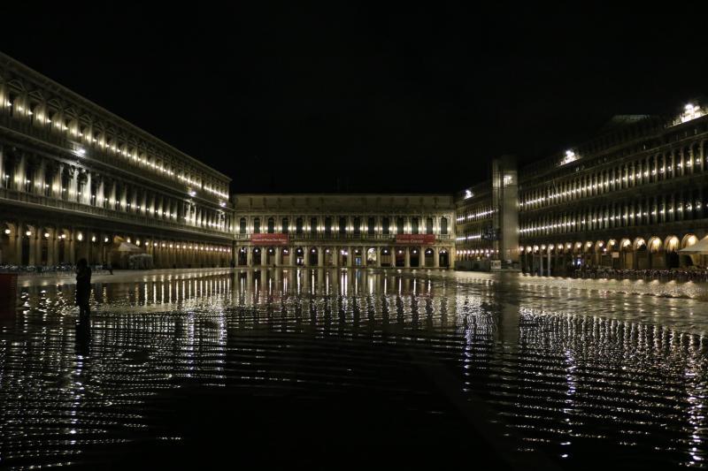 acqua alta Piazza San Marco
