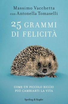 copertina libro 25 grammi di felicità