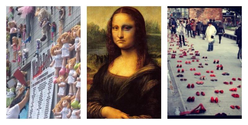 immagini arte e violenza