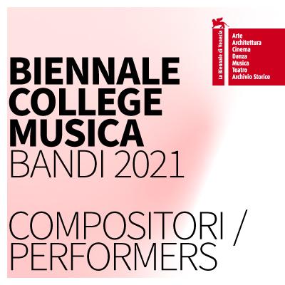 Logo Biennale College Musica