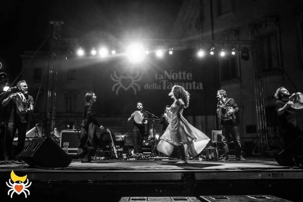 Canzoniere Grecanico in concerto a Melpignano per la Notte della taranta