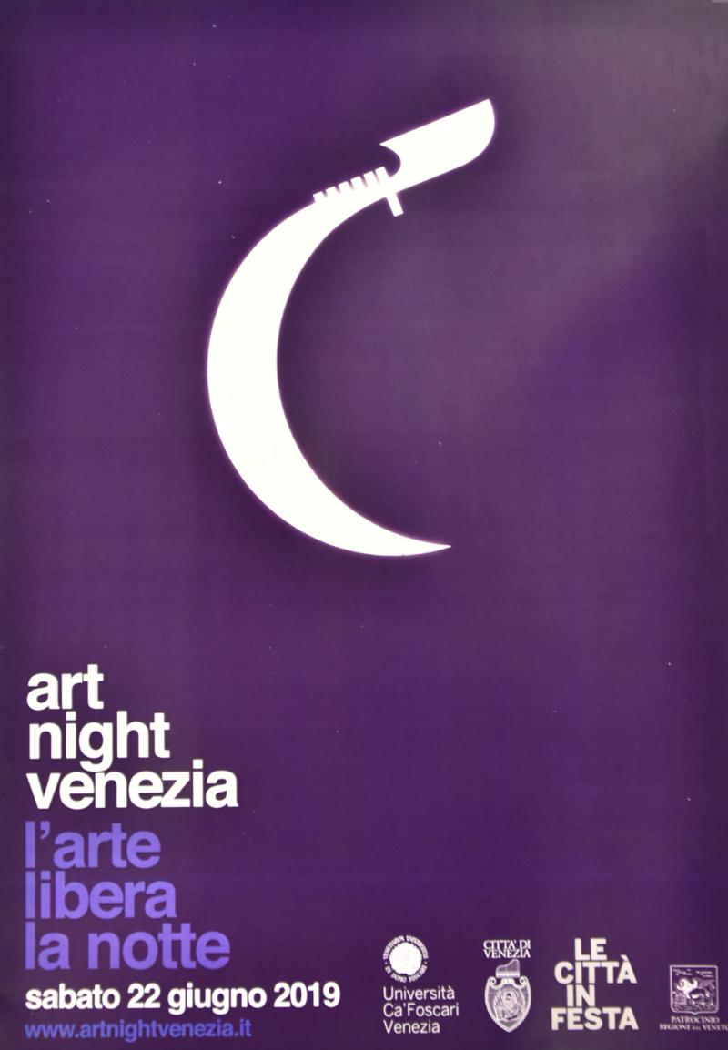 Logo Art night Venezia