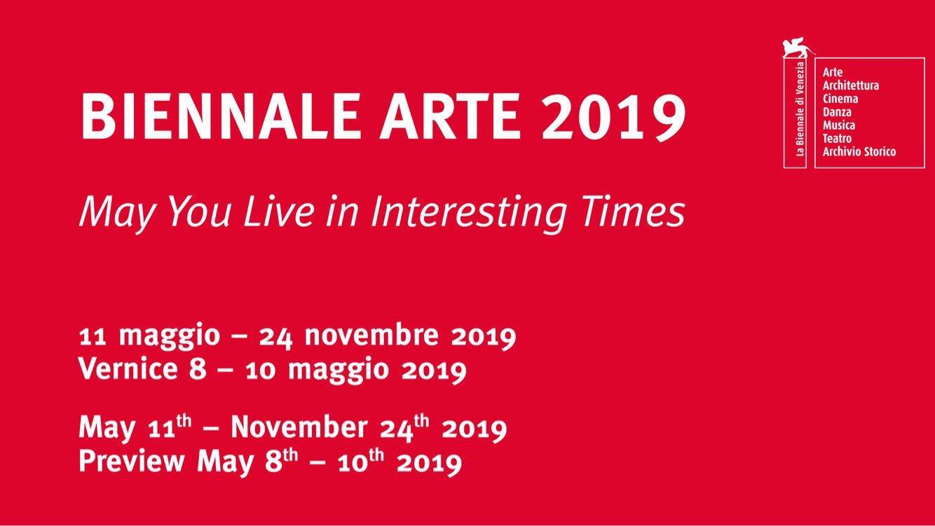 date Biennale arte 2019