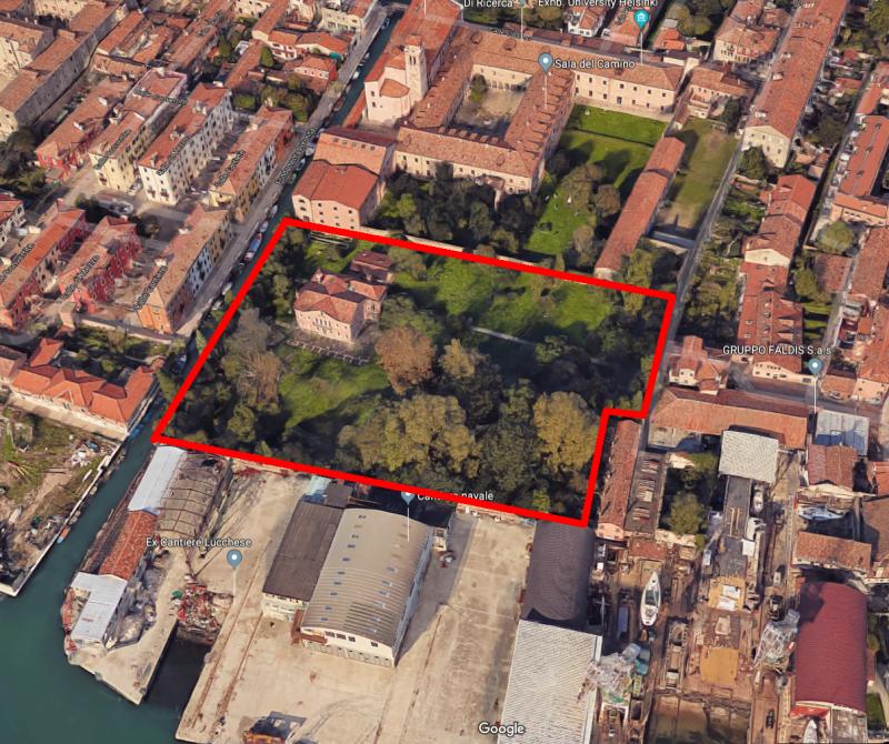 """Immobile denominato """"Villa Herion"""" sito a Venenzia, Giudecca 605."""