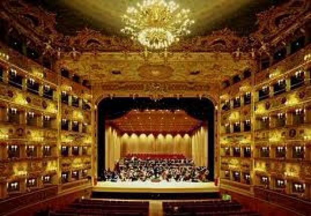 teatro La Fenice interno
