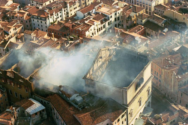 incendio de La Fenice 1996