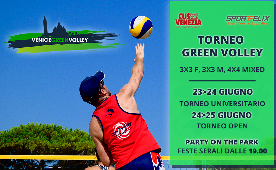 Locandina Green Volley