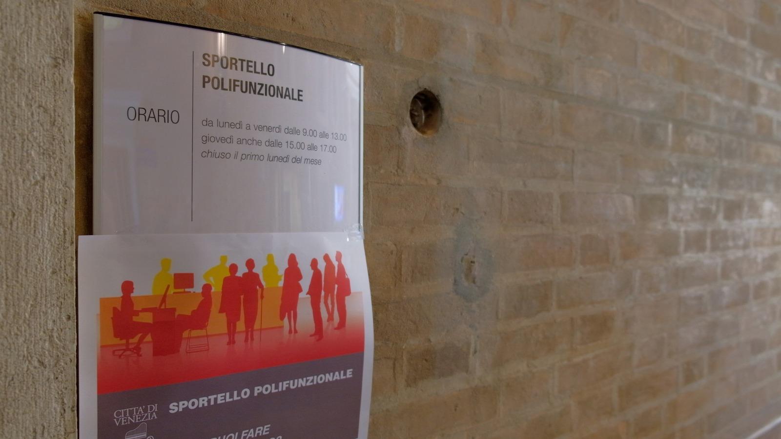 Manifesto sportello polifunzionale