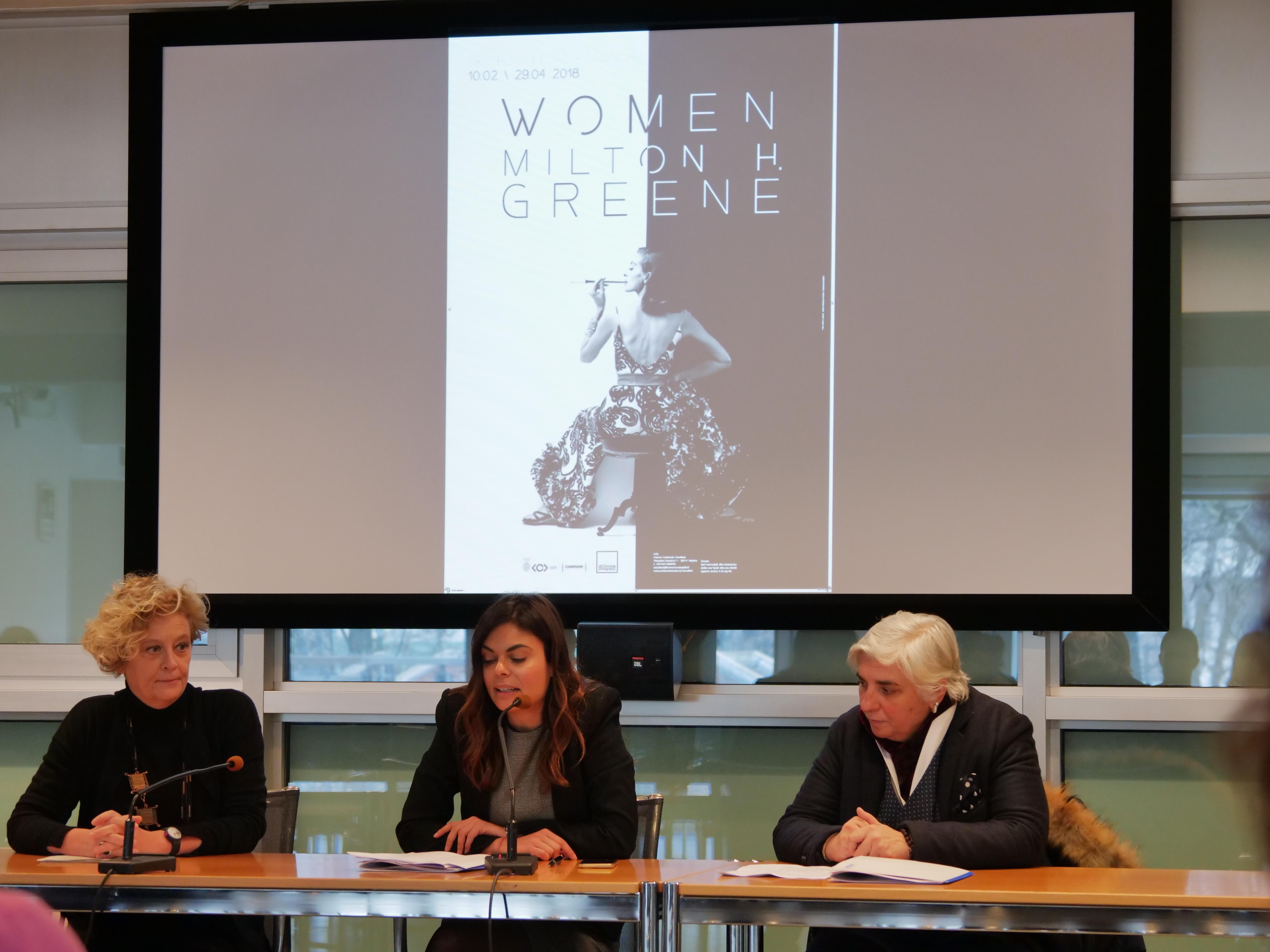 conferenza stampa mostra Women