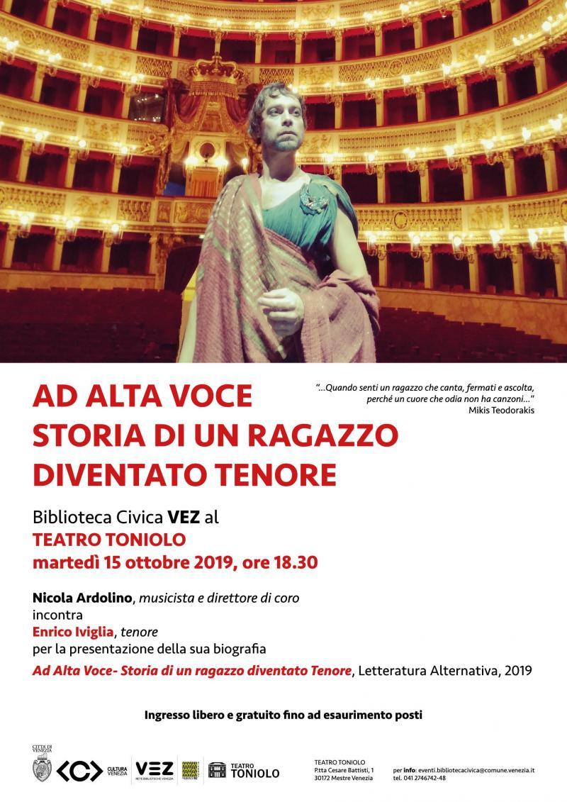 locandina evento Enrico Iviglia