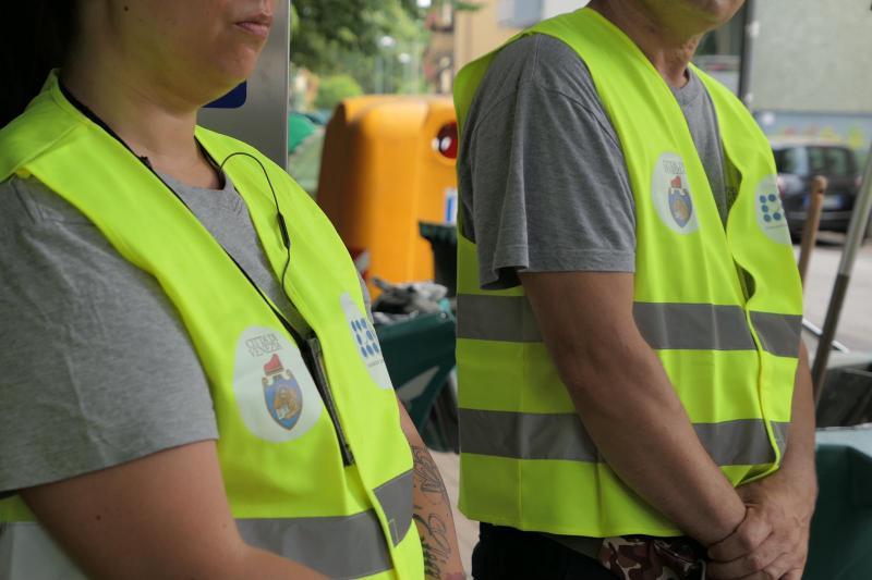 Immagine di lavoratori di pubblica utilità