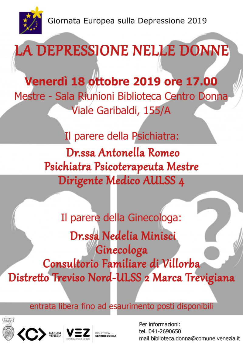 Locandina Rome - Giornata Depressione 2019