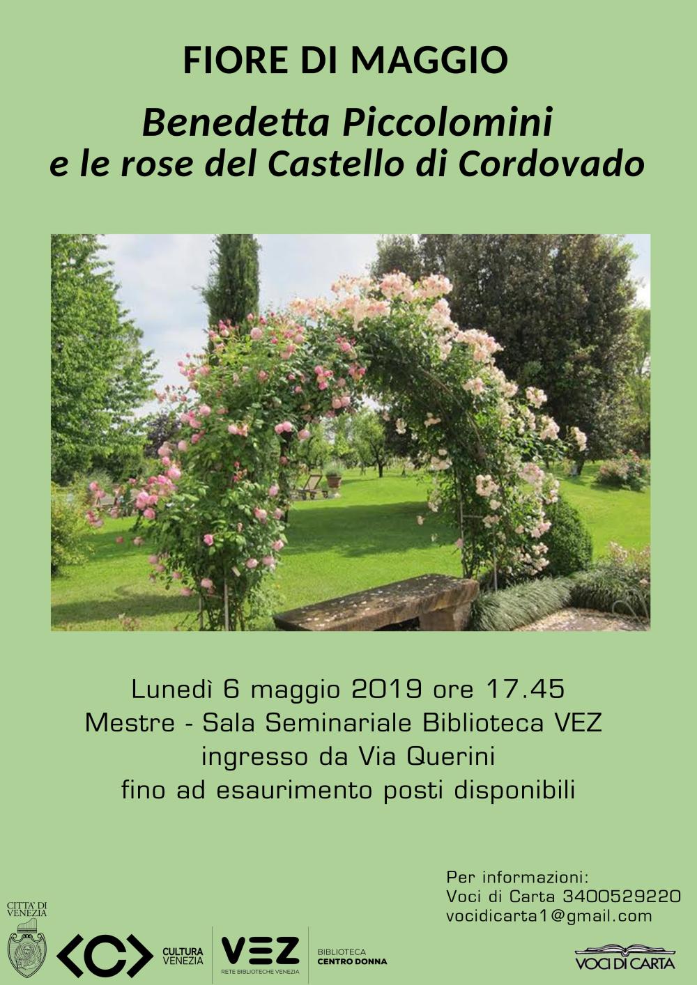 Locandina Fiore di Maggio - Benedetta Piccolomini