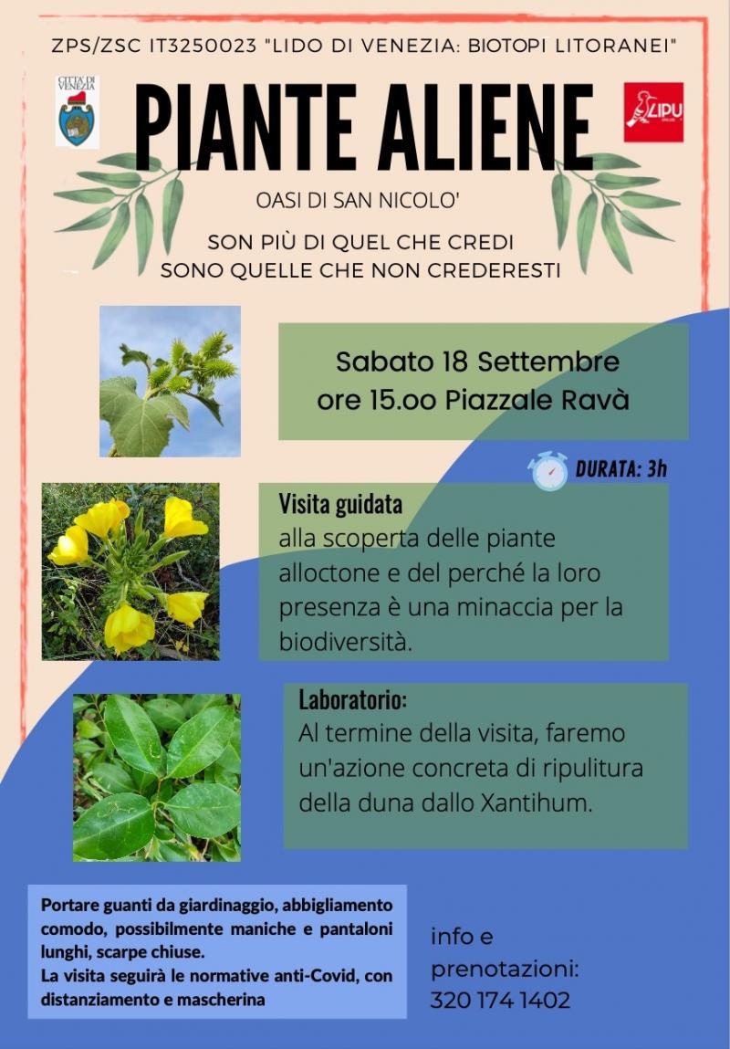 locandina evento visita oasi S.Nicolò