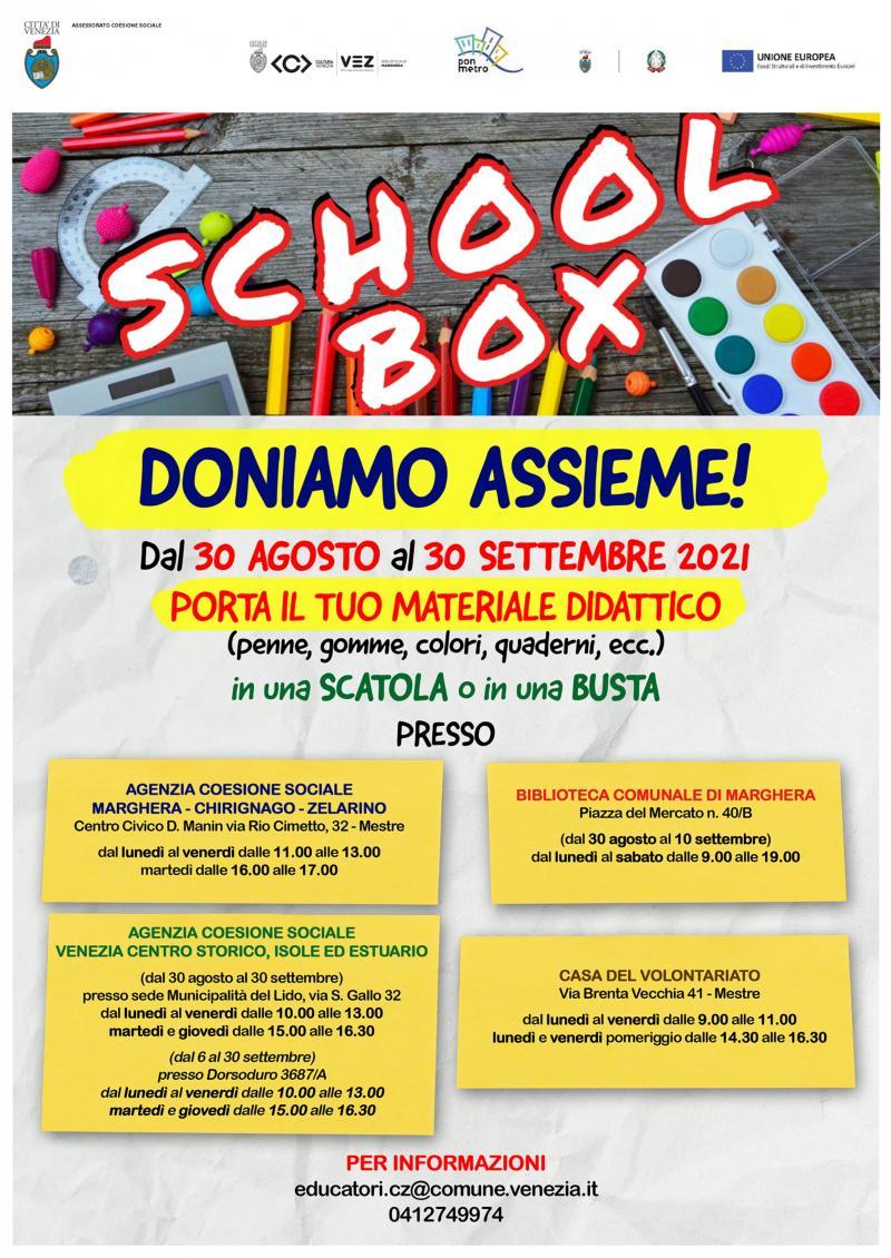 Progetto School Box Venezia