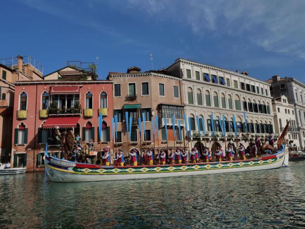 barca corteo storico Regata storica