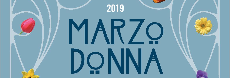 Logo Marzo Donna 2019