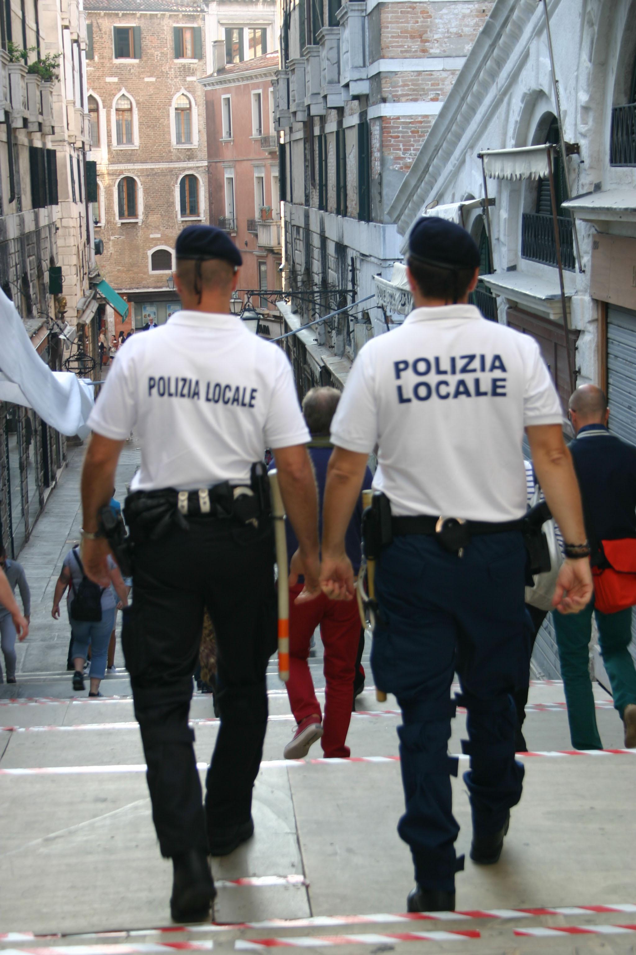 Vigili a Venezia