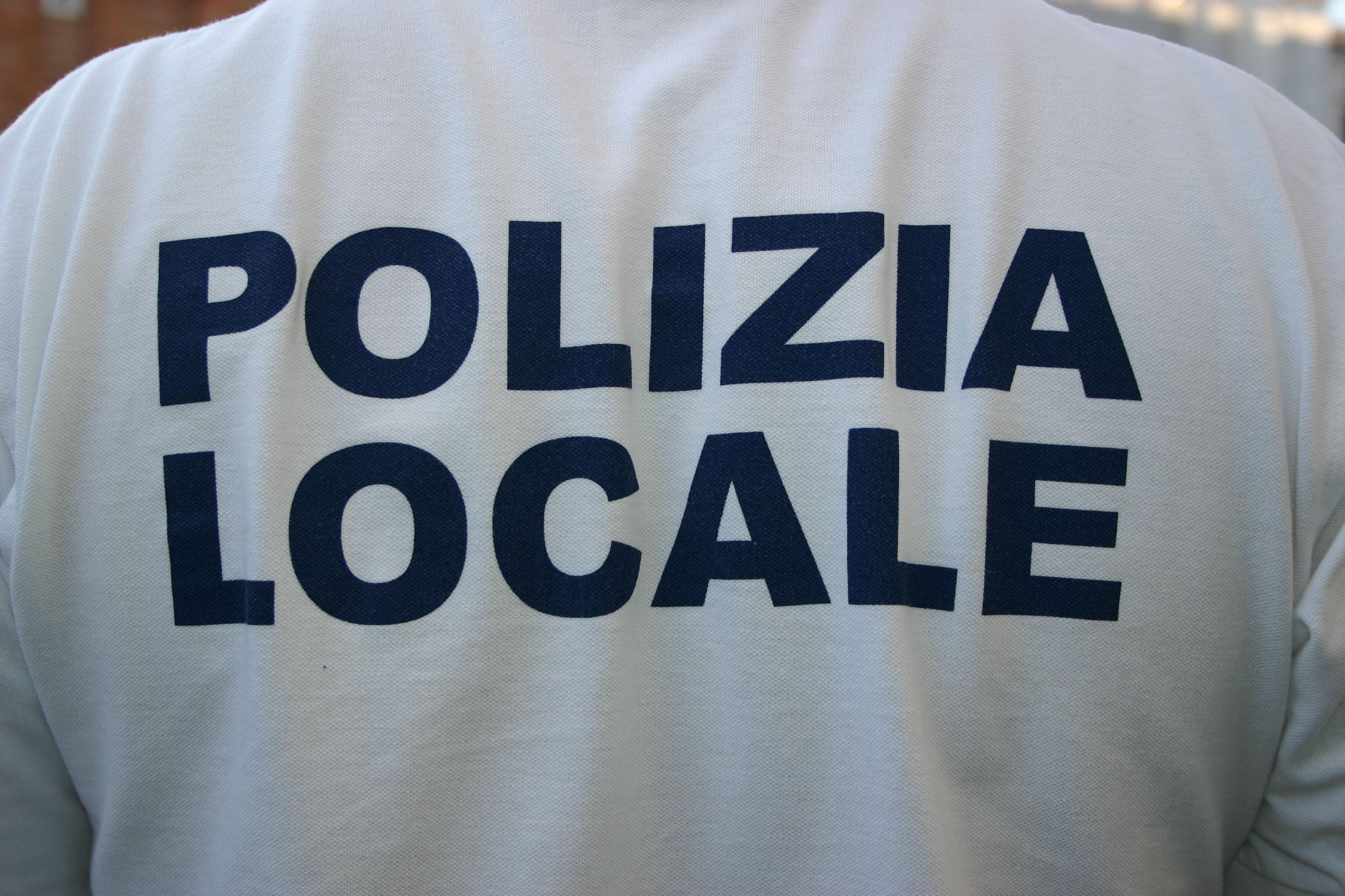 maglia polizia locale