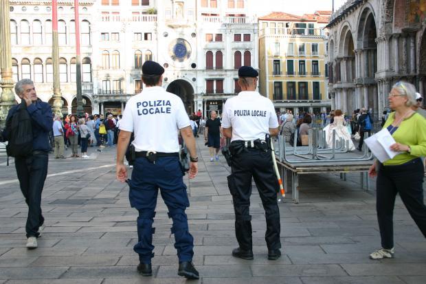 La Polizia locale a San Marco