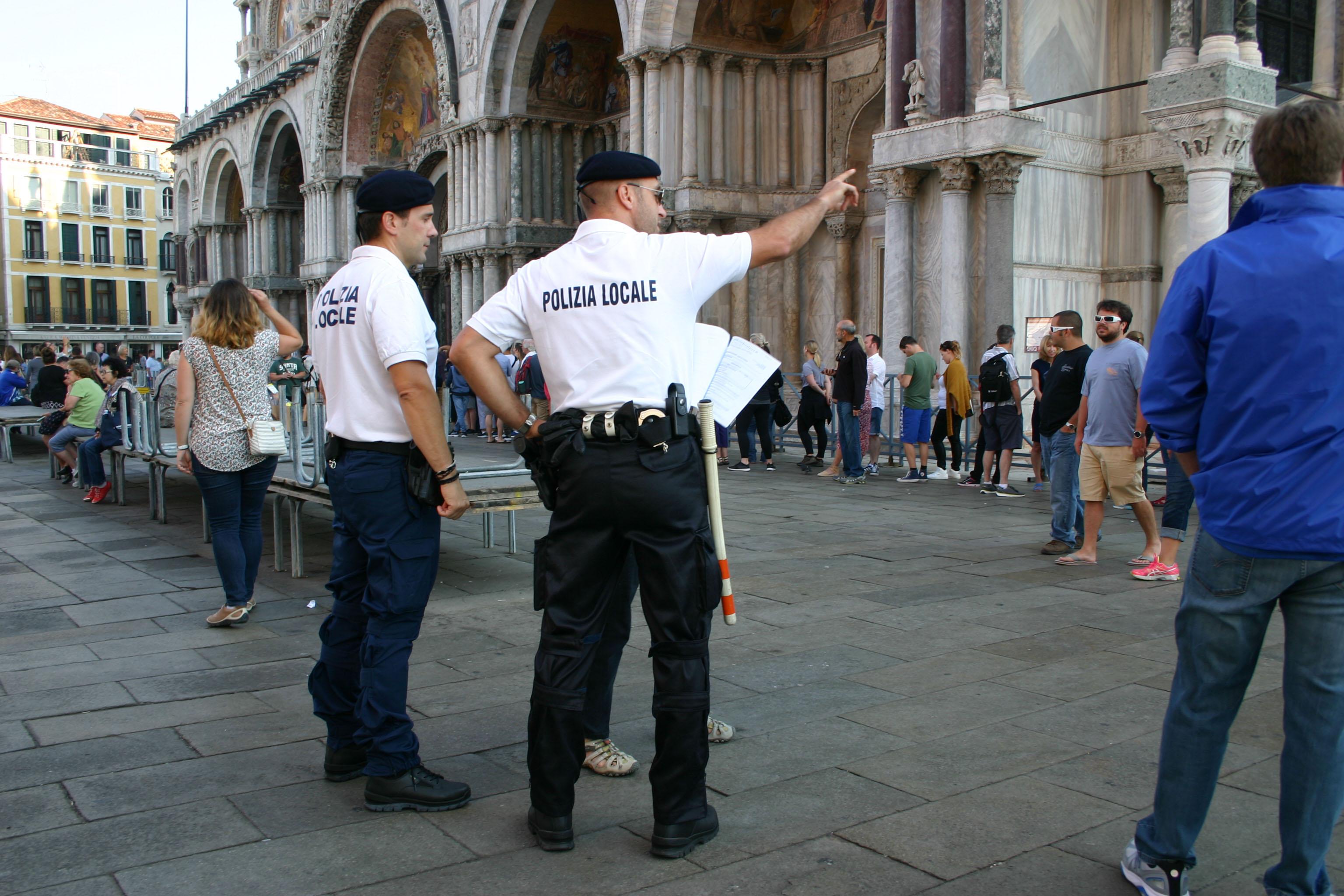 Vigili a San Marco