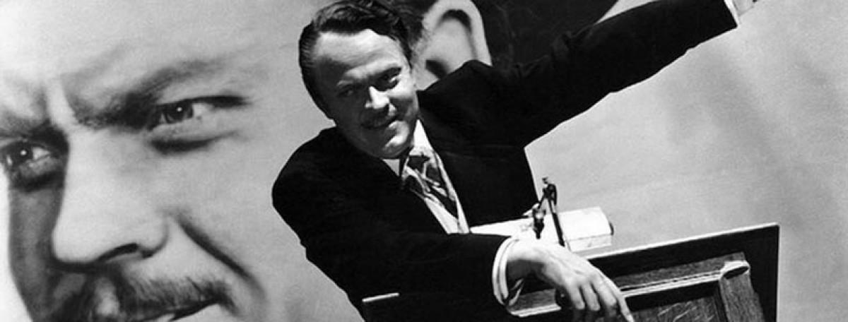 scena da Quarto potere di Orson Welles