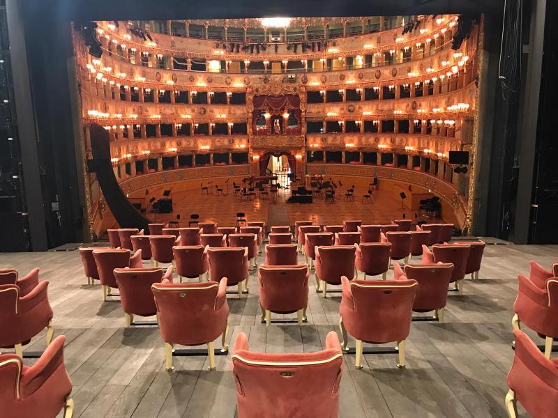 interno teatro La Fenice
