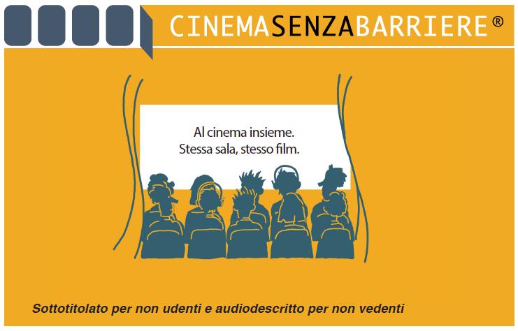 Logo Cinema senza barriere