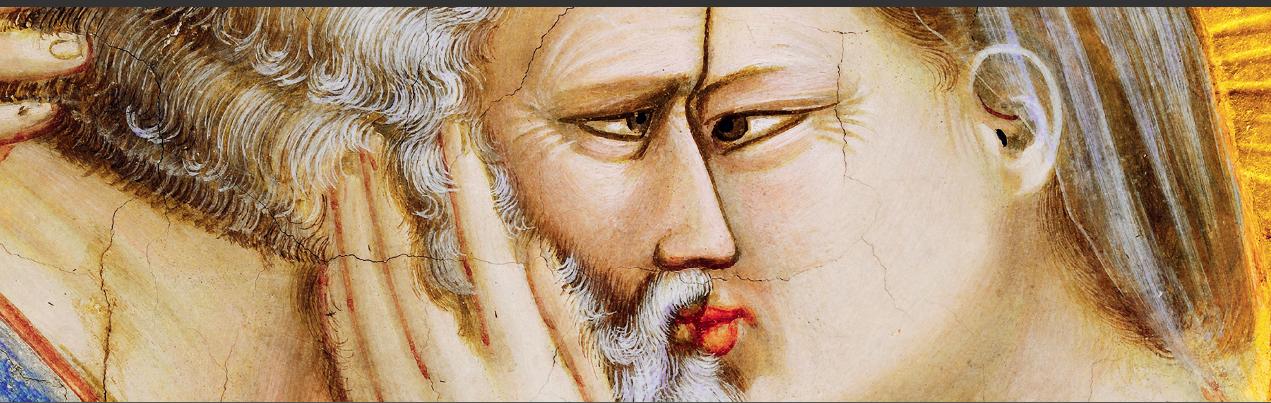 Affresco di Giotto - particolare