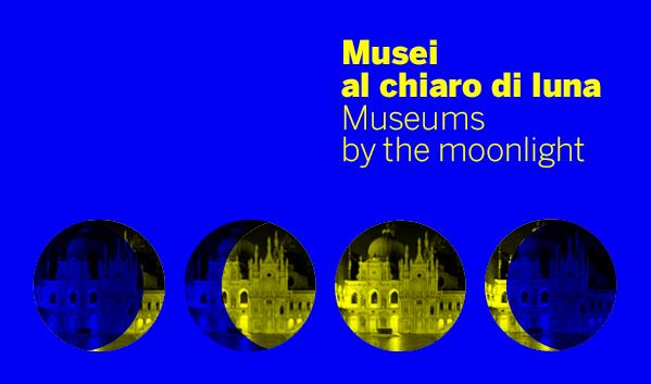 Musei illuminati dalla luna