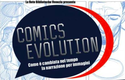 logo comics evolution