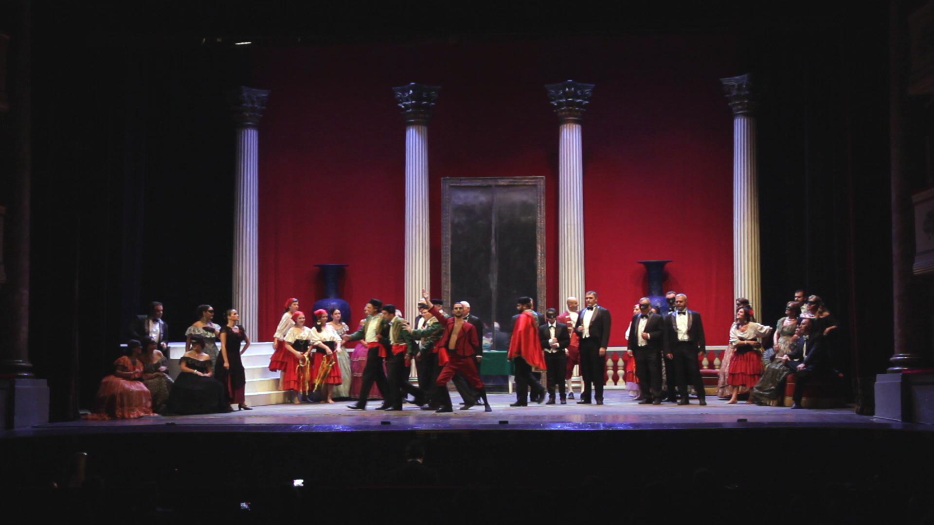 La Traviata. Foto di scena
