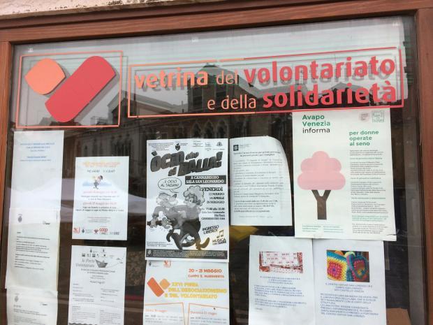 vetrina del volontariato