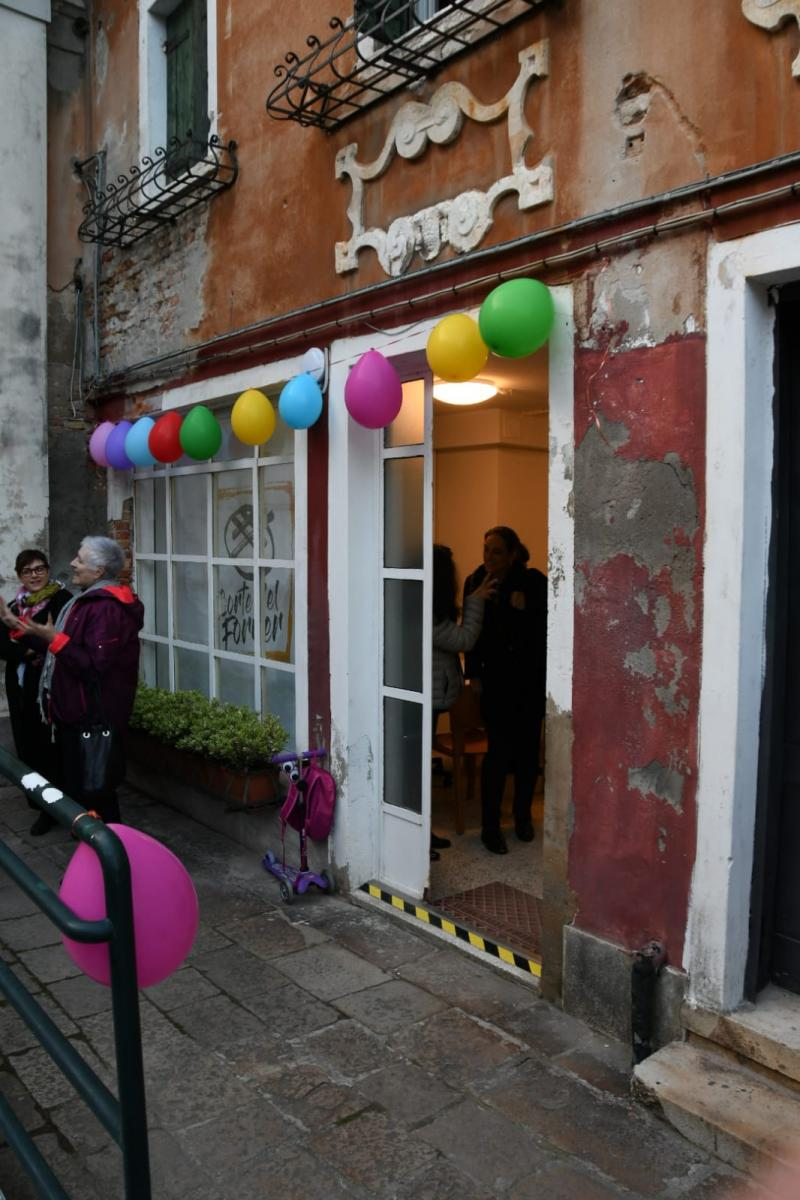 emporio della solidarietà a Venezia