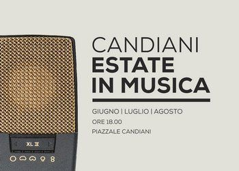 La locandina di Candiani estate Musica