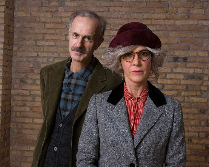Maria Amelia Monti e Roberto Citran