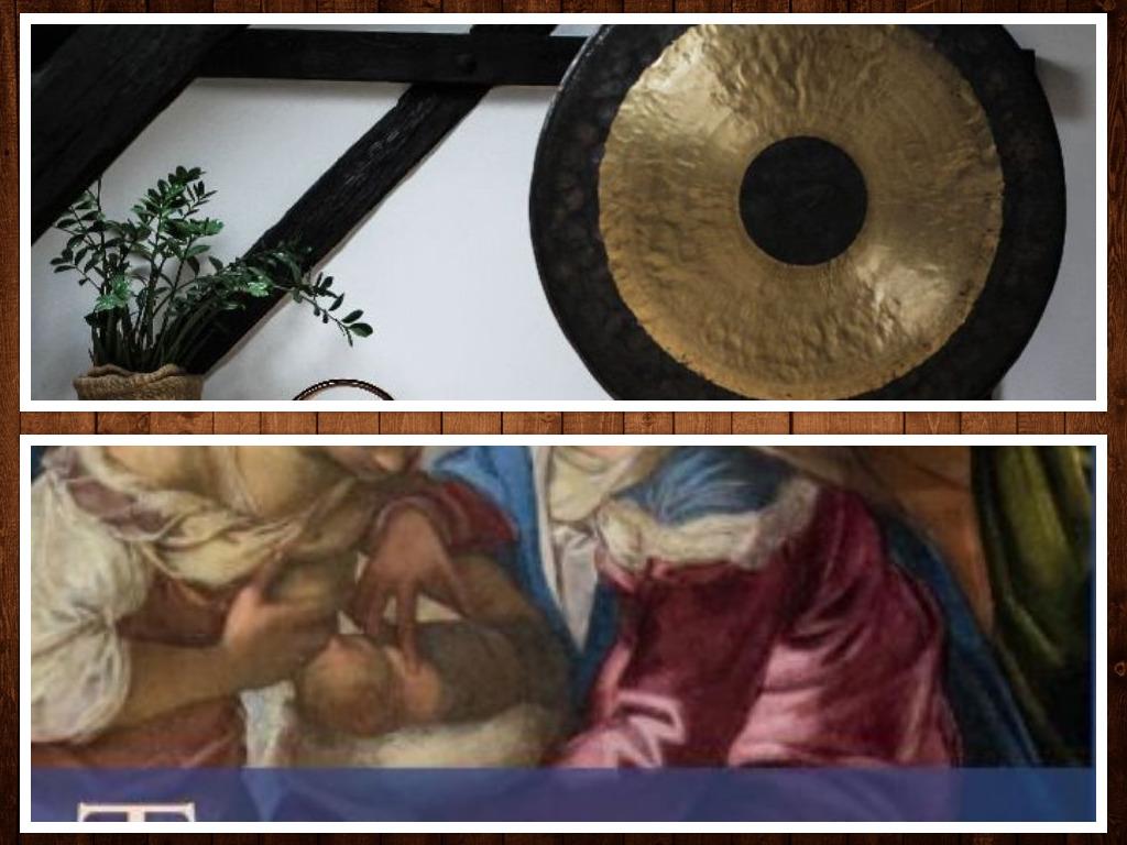 gong e dettaglio quadro Tintoretto