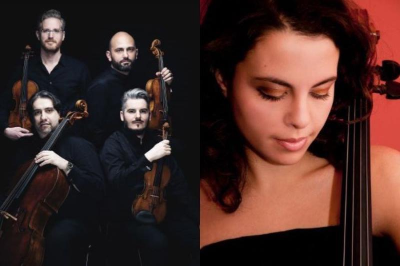 Quartetto di Cremona e la giovane violoncellista Ludovica Rana