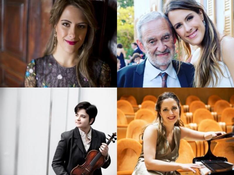 Francesca Dego, Daniele Gay, Fabiola Tedesco e Francesca Leonardi