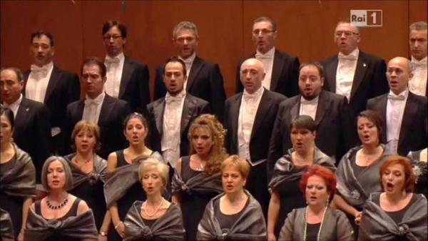 Coro del Teatro La Fenice, particolare