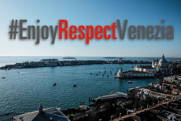 Logo campagna #EnjoyRespectVenezia