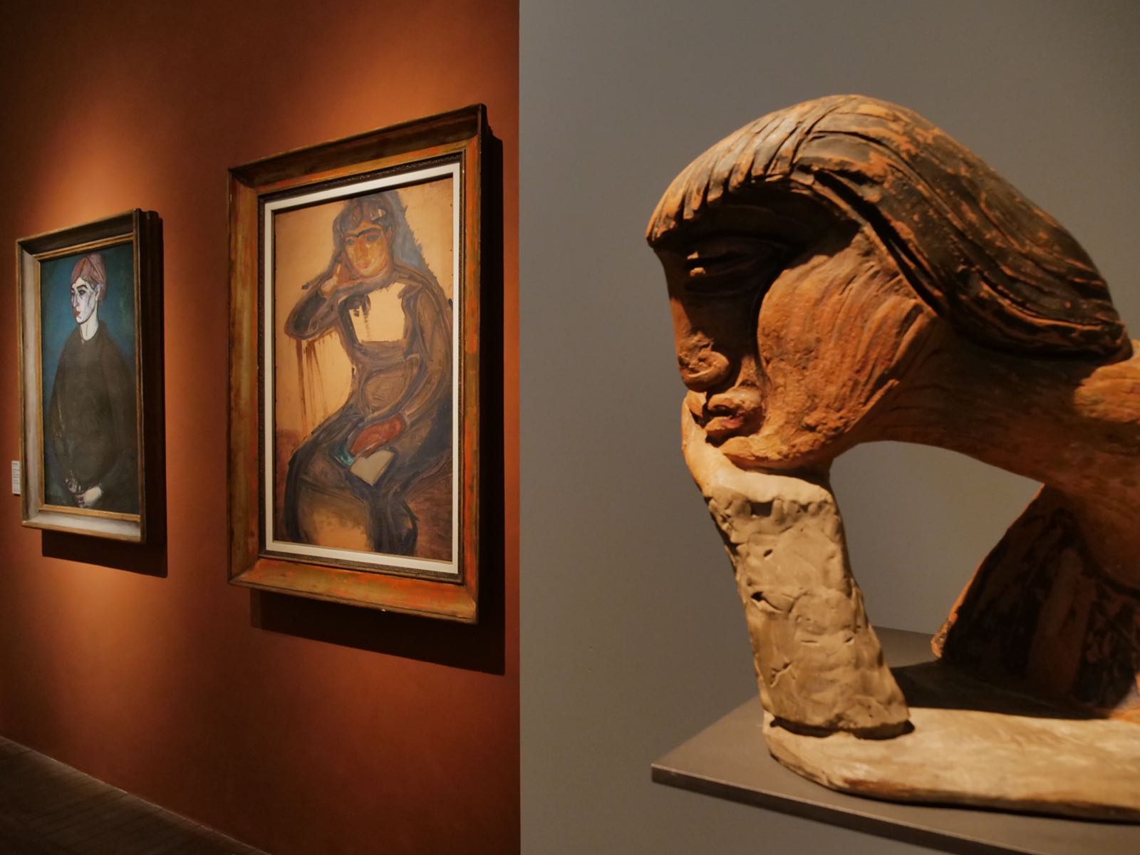 opere in mostra