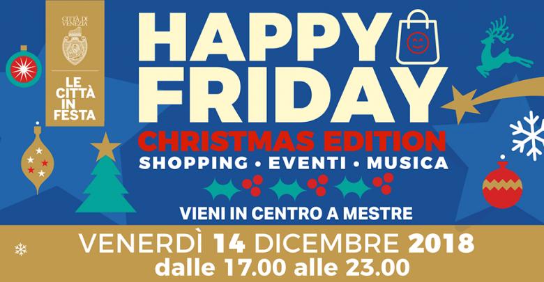 Locandina Happy Friday Christmas Edition