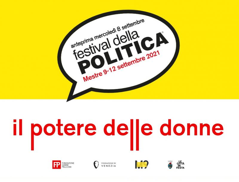 Locandina Festival Politica Mestre 2021