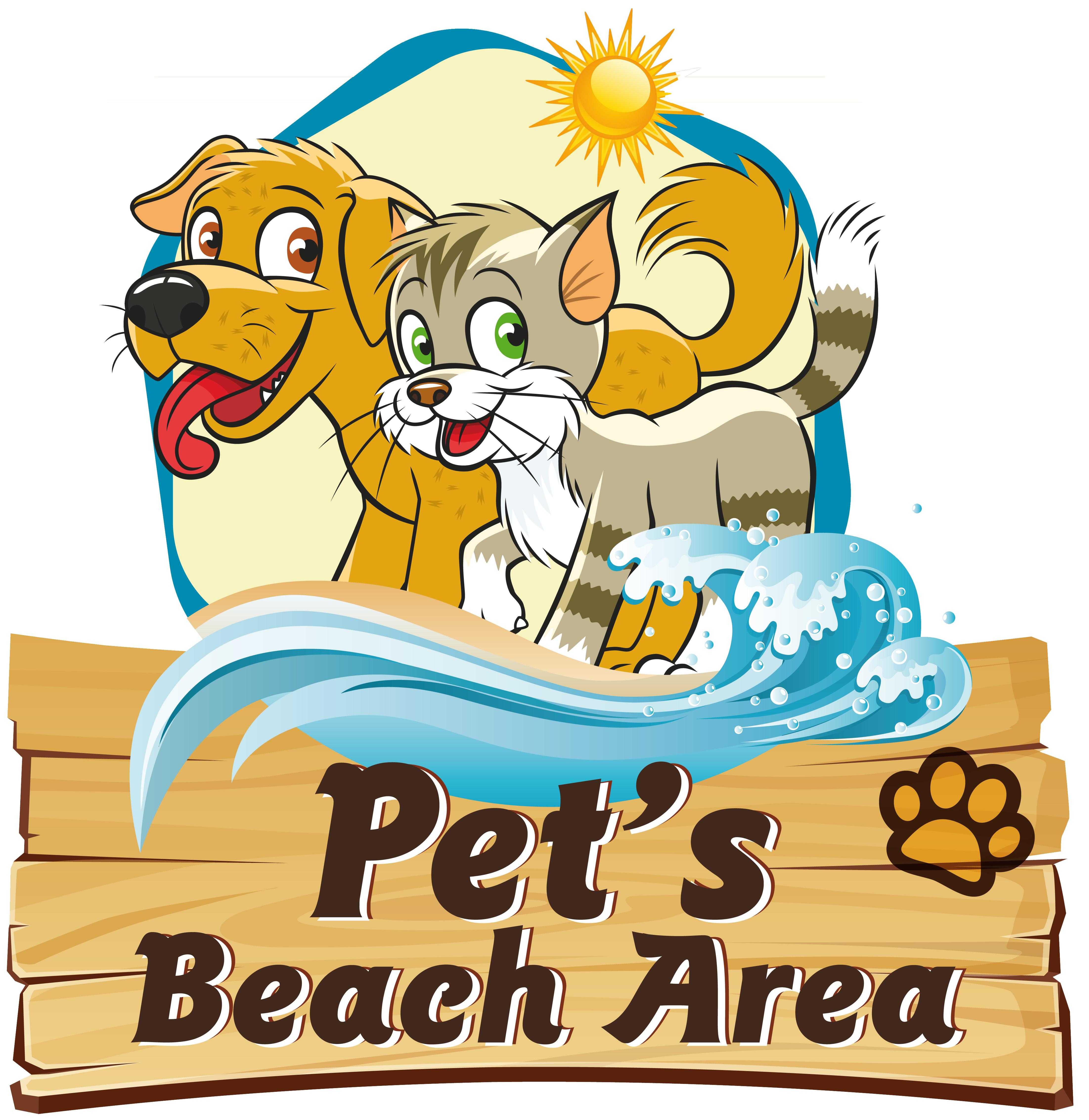 Logo Pet's beach area Venezia